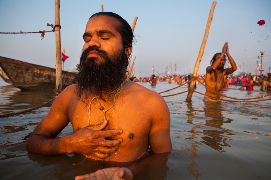 A series of Maha Kumbh Mela in Allahabad 2013.