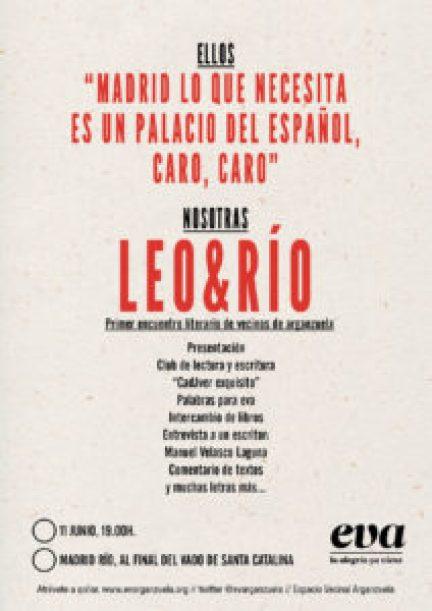 Cartel leo&río II