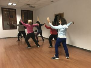Los miércoles, clases de Tai Chi – Chi Kung en EVA.