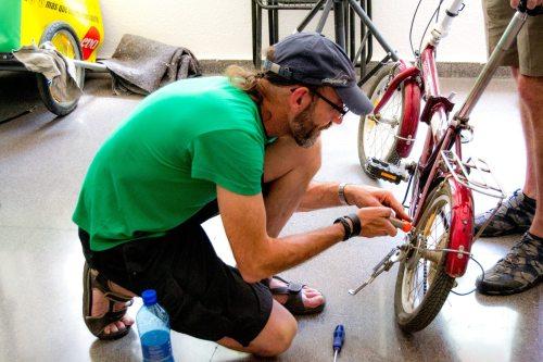 Taller de bicicletas @EnBiciArganzuela