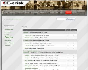 Evarisk | Forum du logiciel d'évaluation des risques professionnels