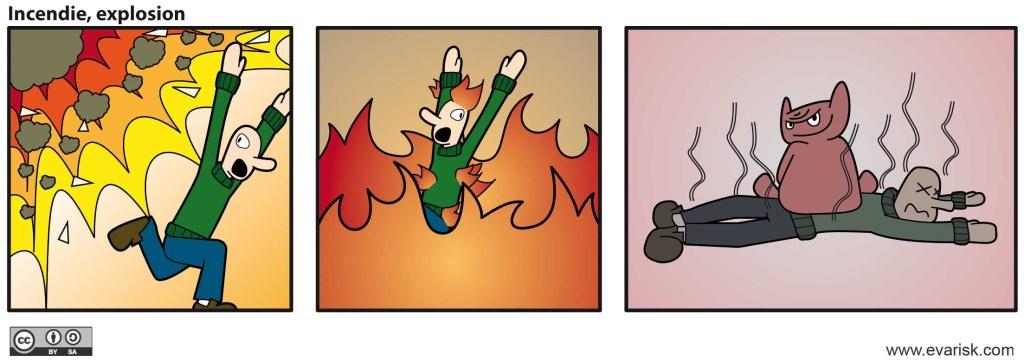 risque incendie et explosion