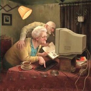 Ouderen op het internet - Eva Schouten