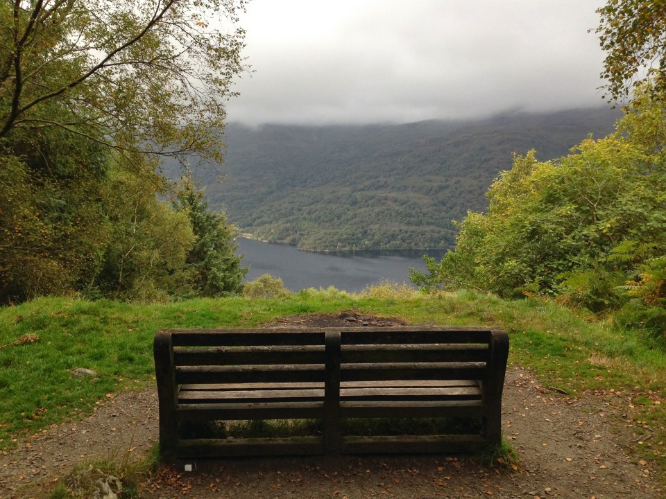 West Highland Way Bench