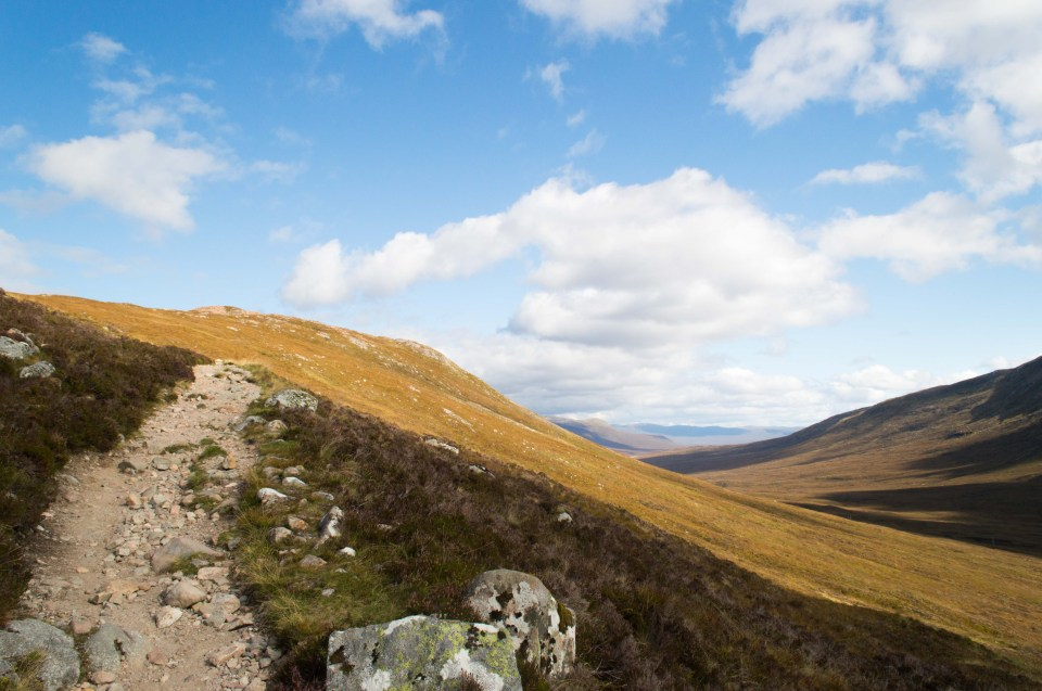 West Highland Way - Devil's Staircase