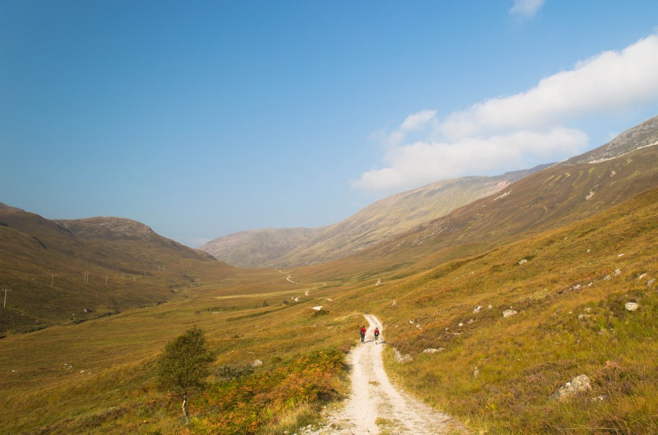 West Highland Way - Kinlochleven