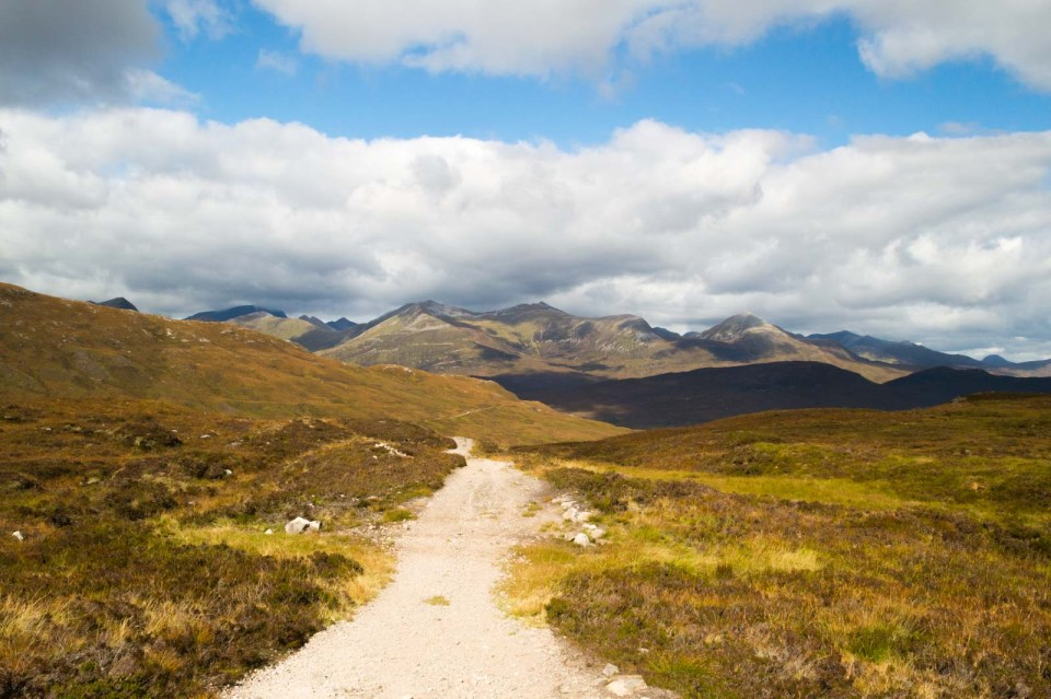 West Highland Way Trail to Kinlochleven