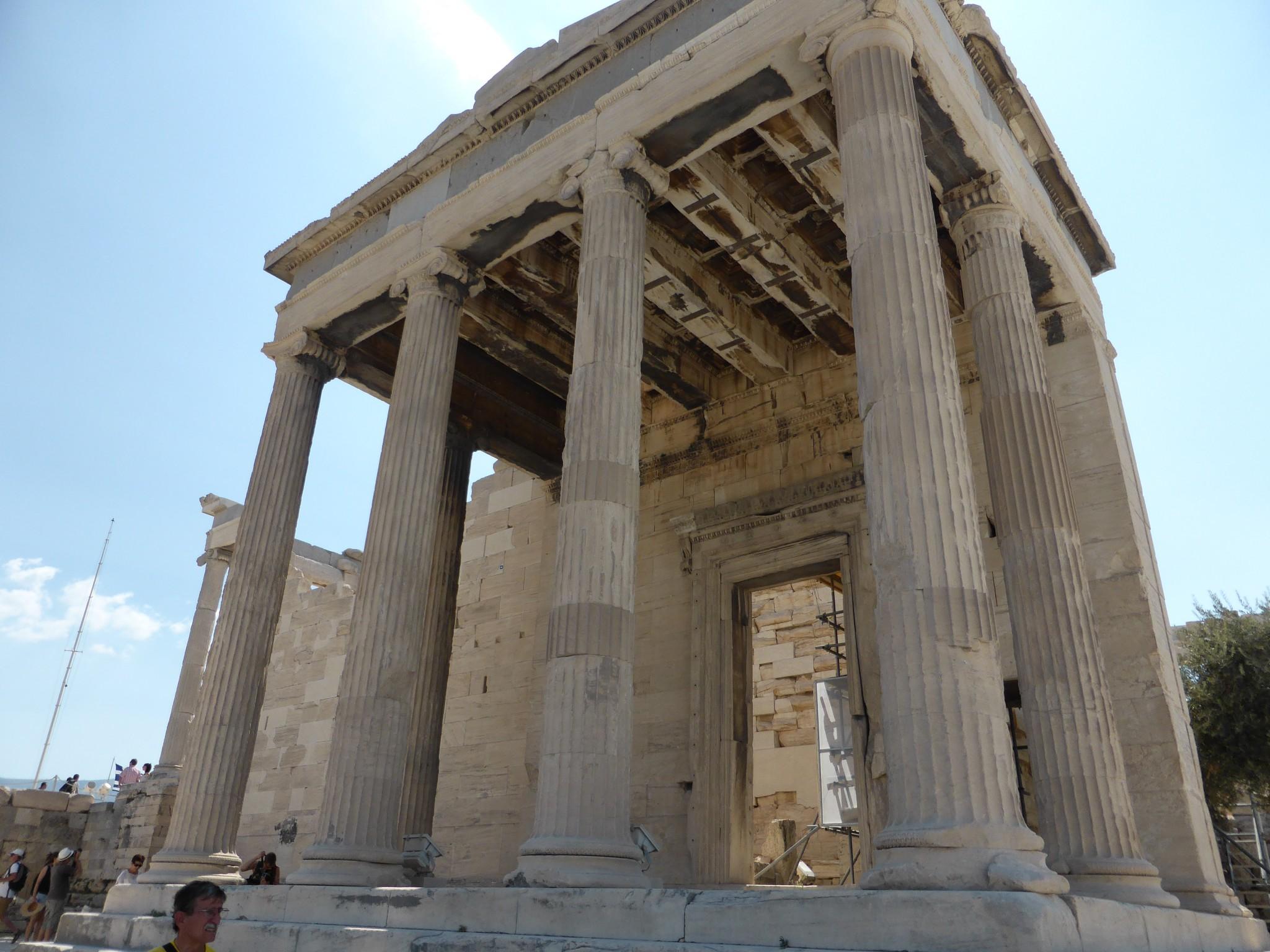 Athènes Temple d'Athena Niké