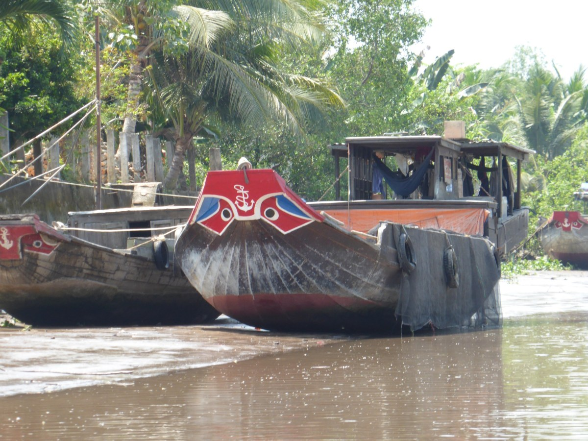 Voguer sur le Delta du Mekong