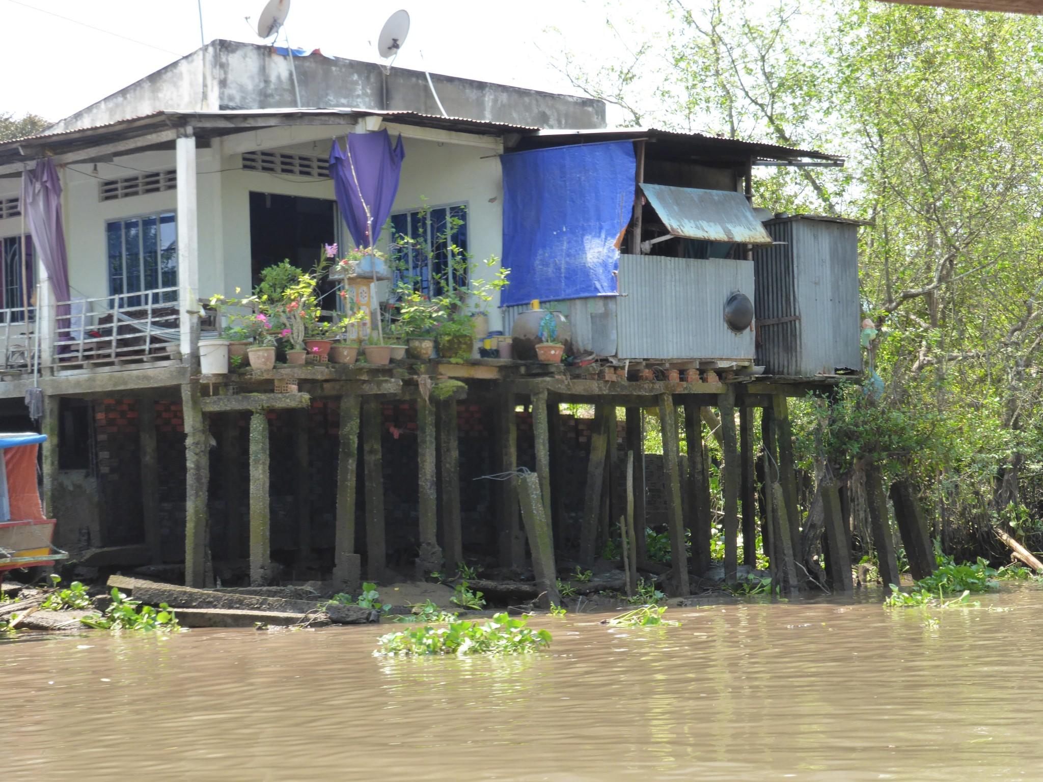 Maison sur Piloti Delta du Mekong