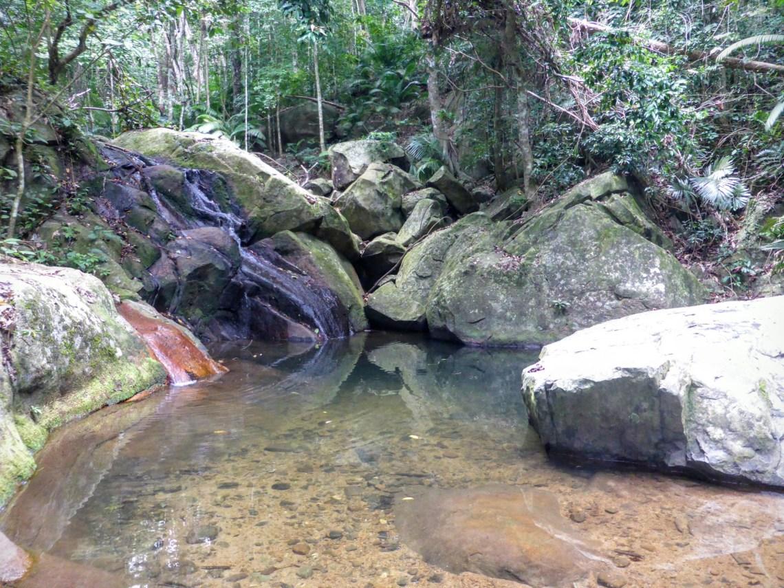 alis waterfall tioman