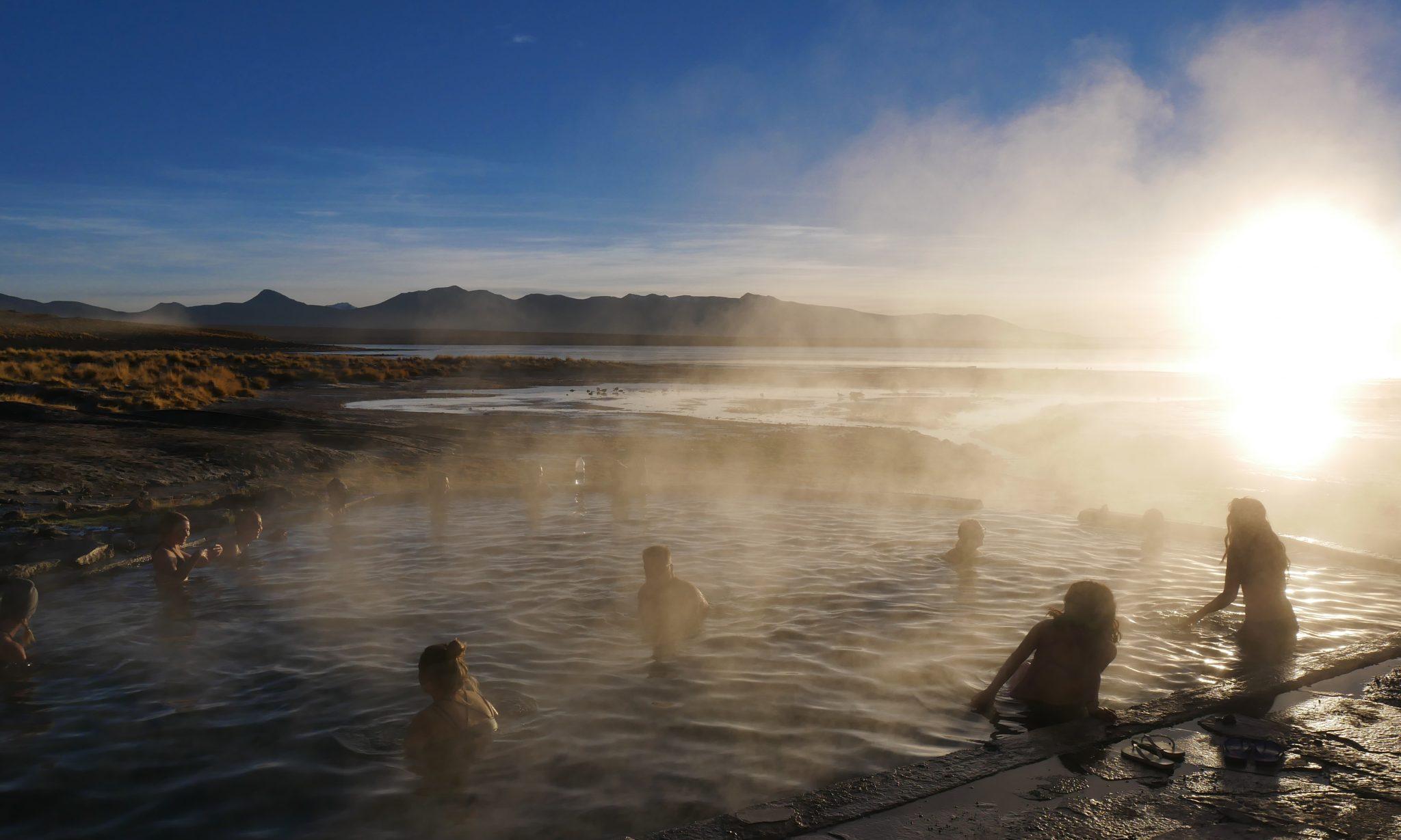 source d'eau chaude