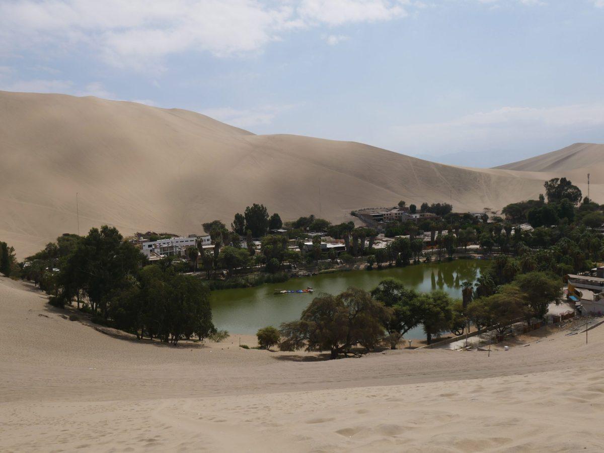 Huacachina, un oasis au milieu du Pérou