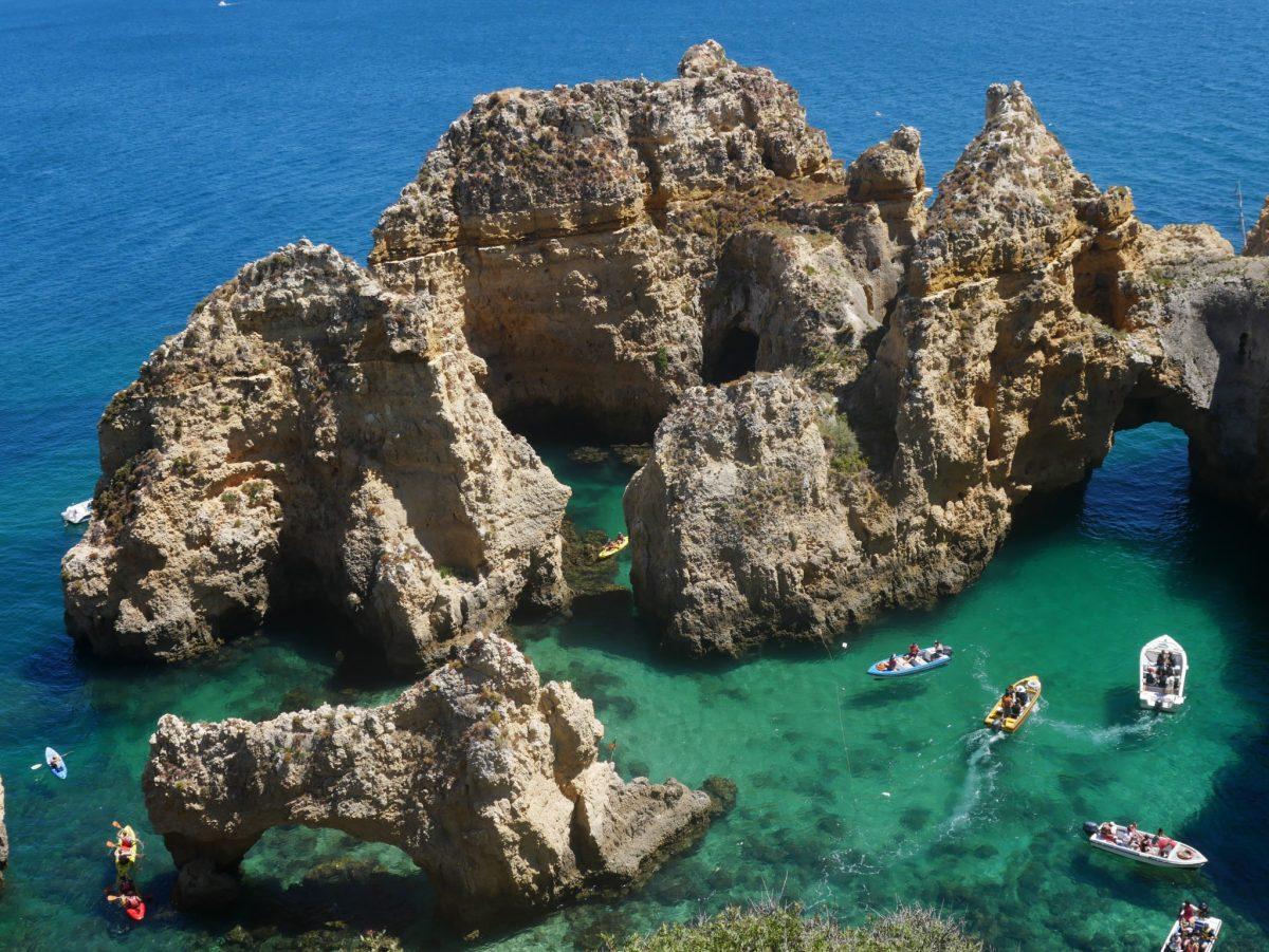 L'Algarve entre plages et villes