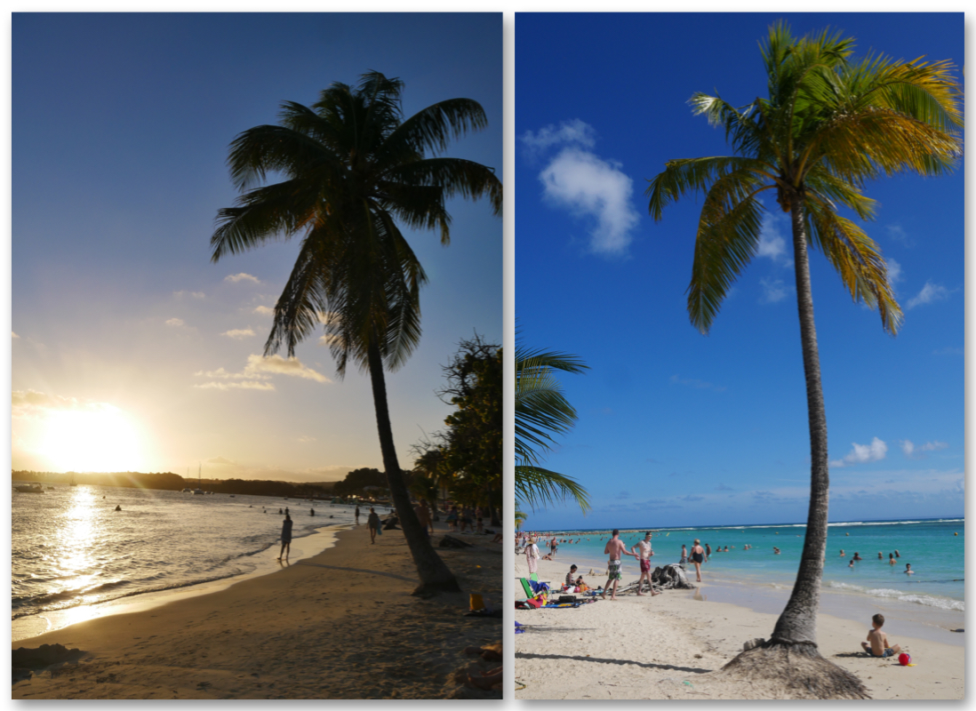 Les plages de Grande-Terre