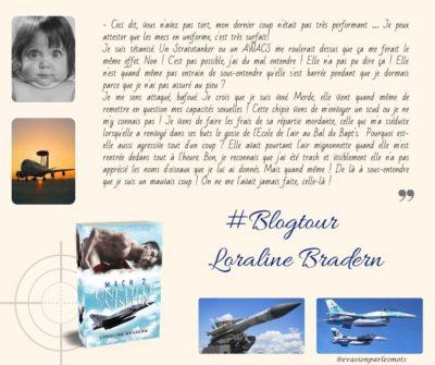 Blogtour Loraline Bradern