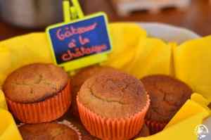Muffins chataignes