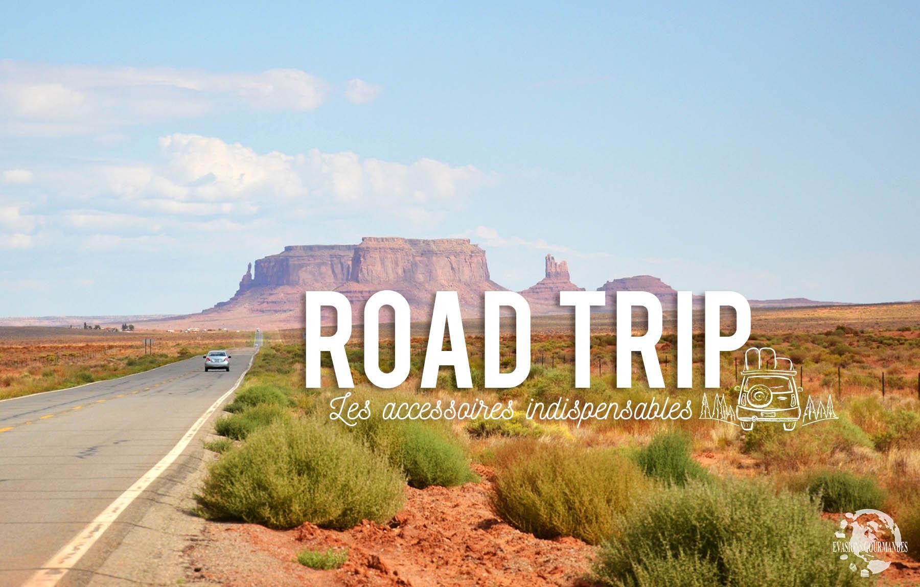 Accessoires indispensables road trip