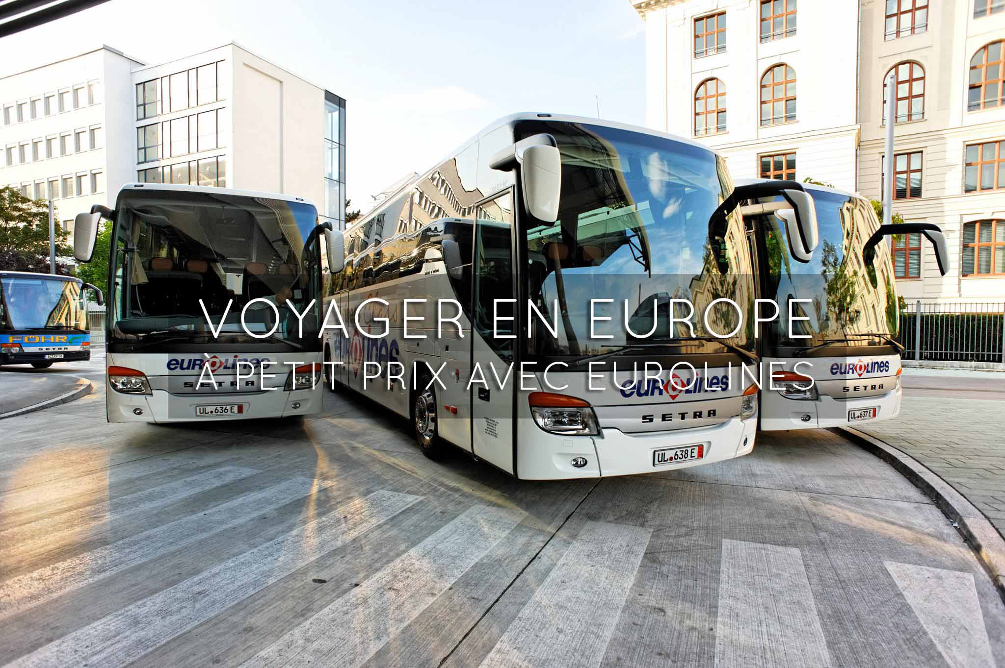 voyage par bus en europe