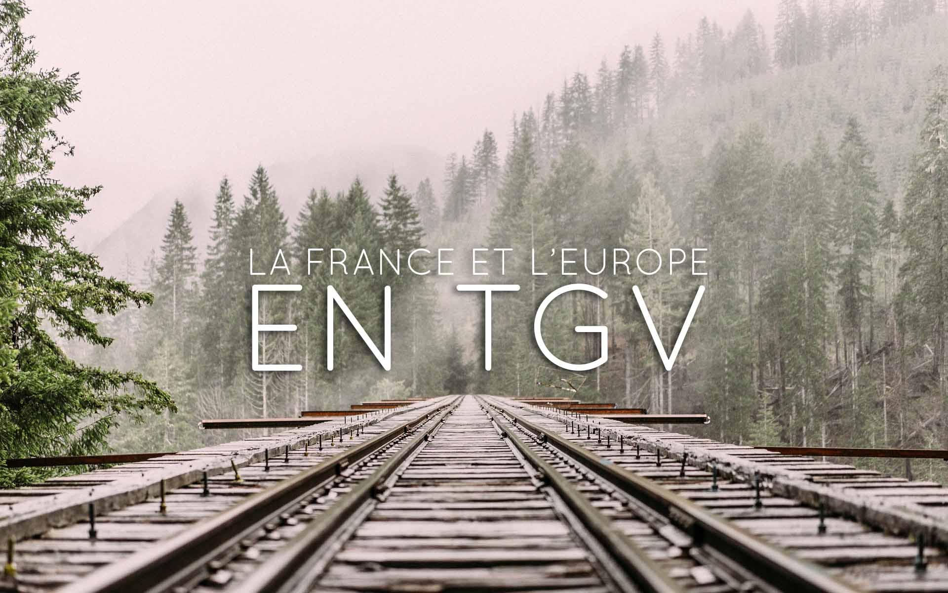Europe en TGV