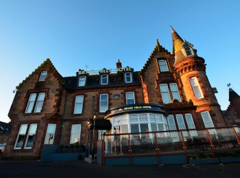 Où dormir à Edimbourg ? Le Best Western Braid Hills Hôtel