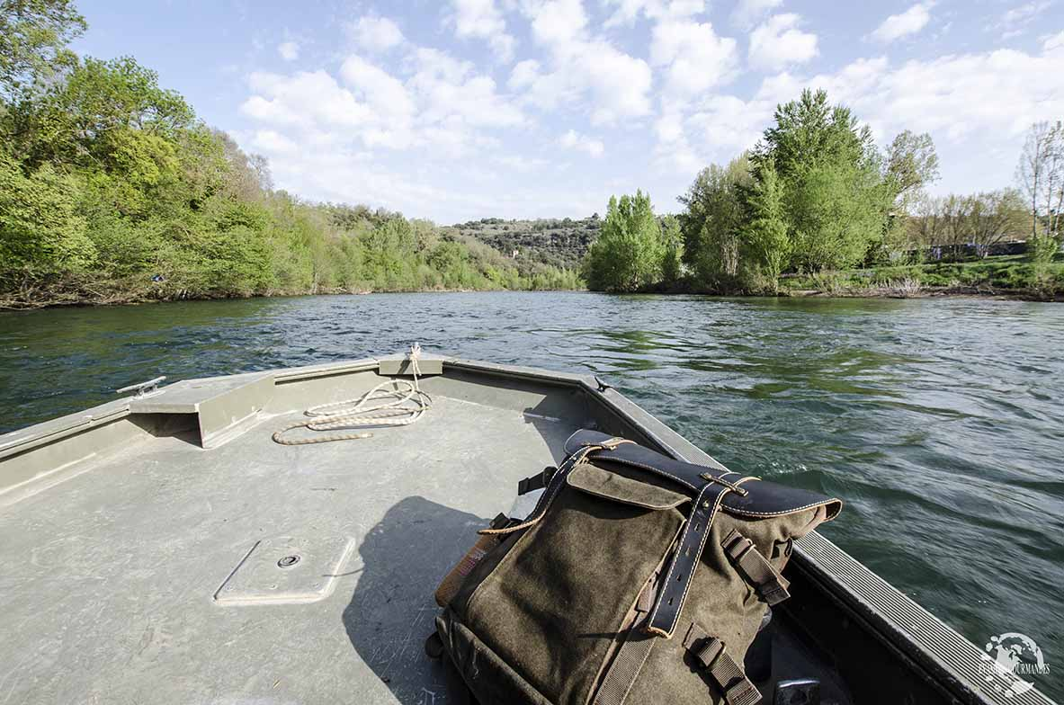Balade en barque Millau
