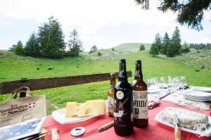 Dégustation bière fromages de Savoie