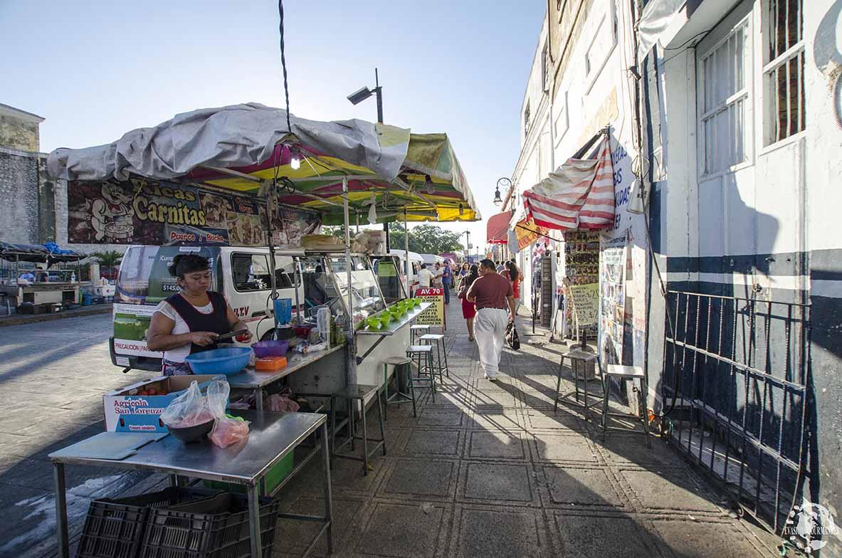 Street food Mérida