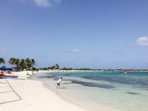 plage à Saint Martin