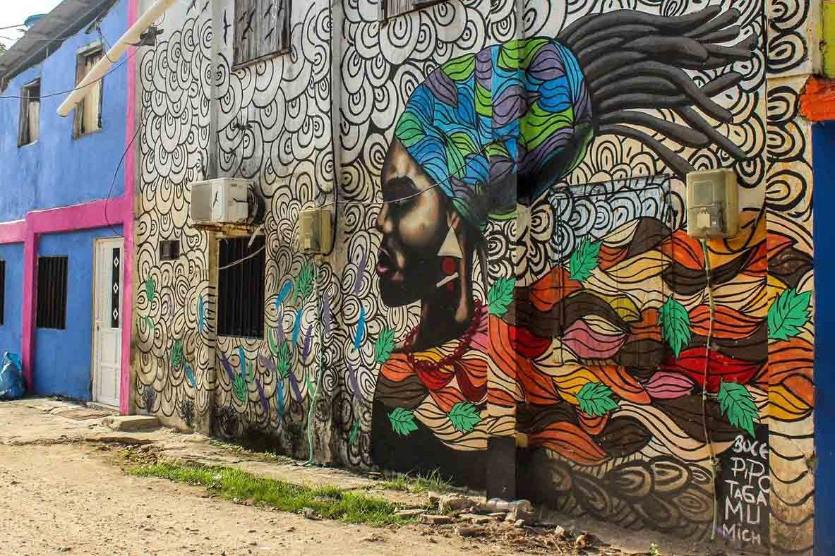 Street art San Andres