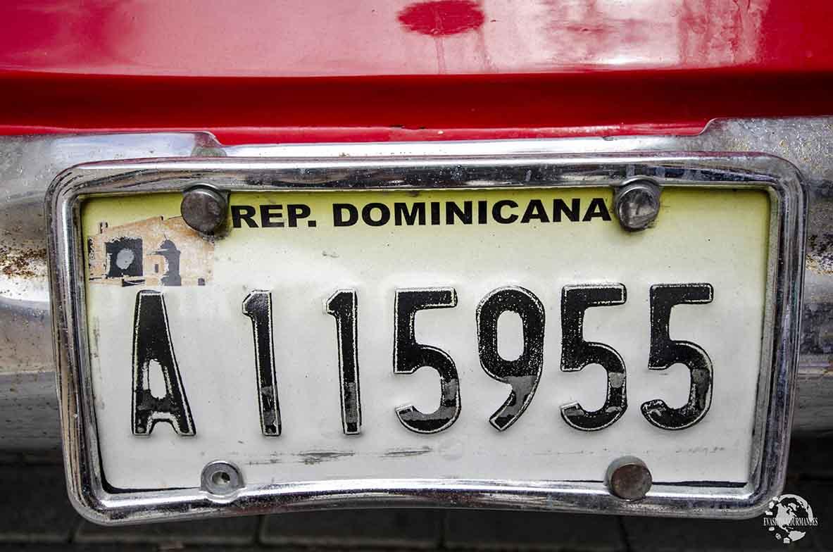 Plaque dominicaine