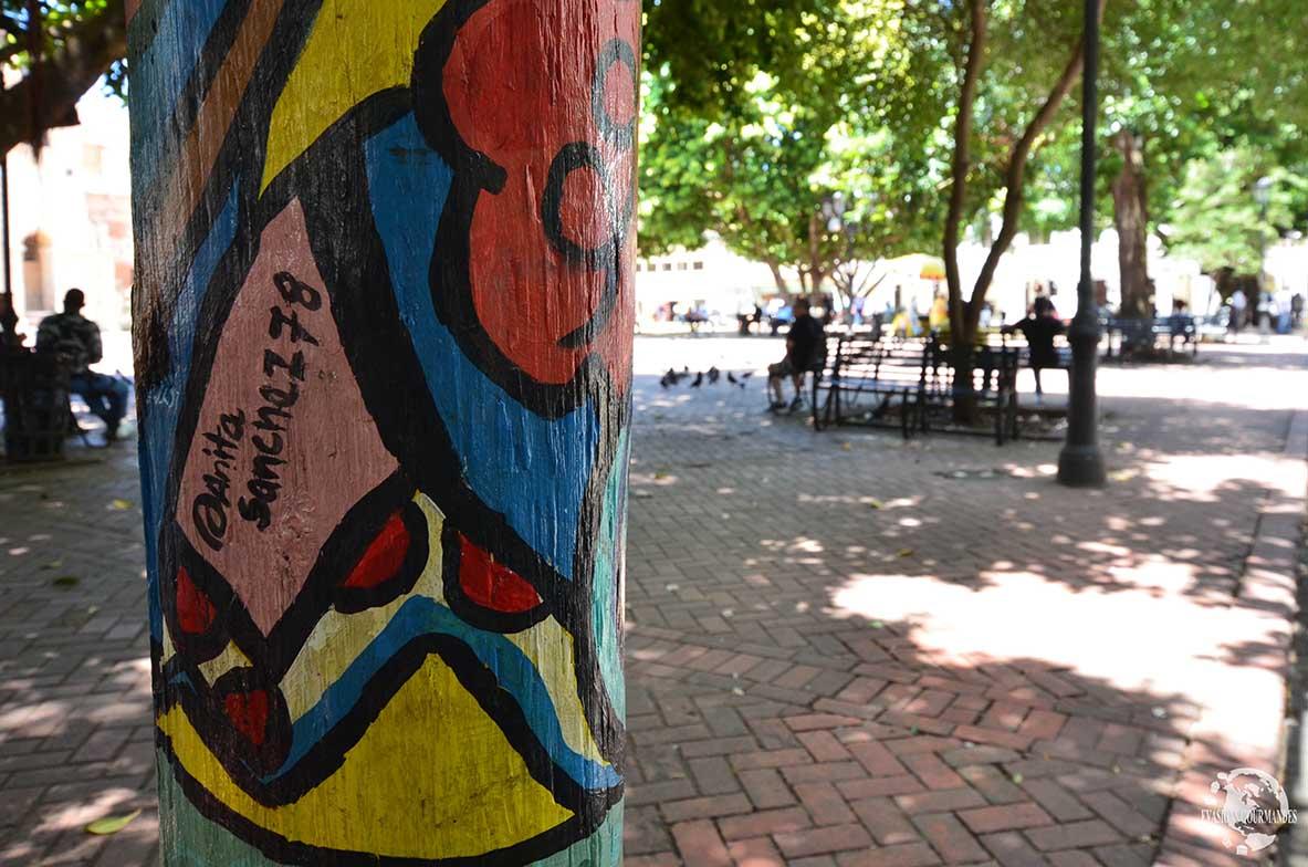 Street art Saint Domingue