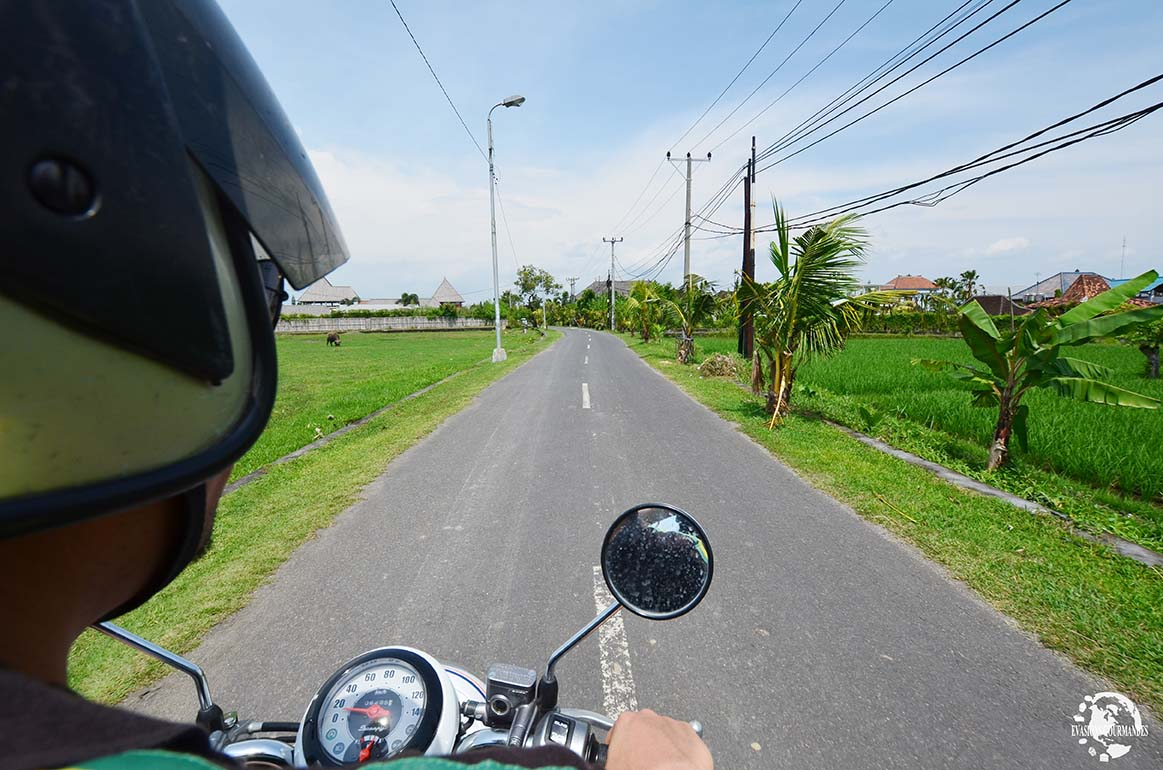 scooter Bali