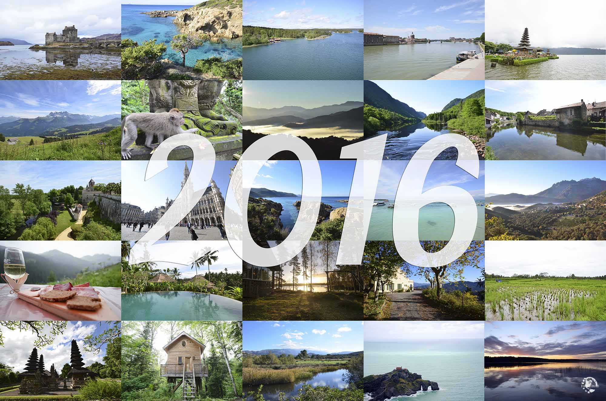 Bilan 2016 voyages