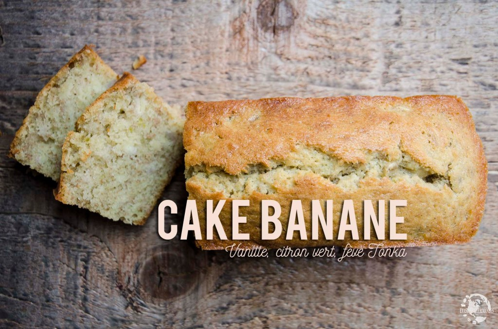Cake moelleux à la banane