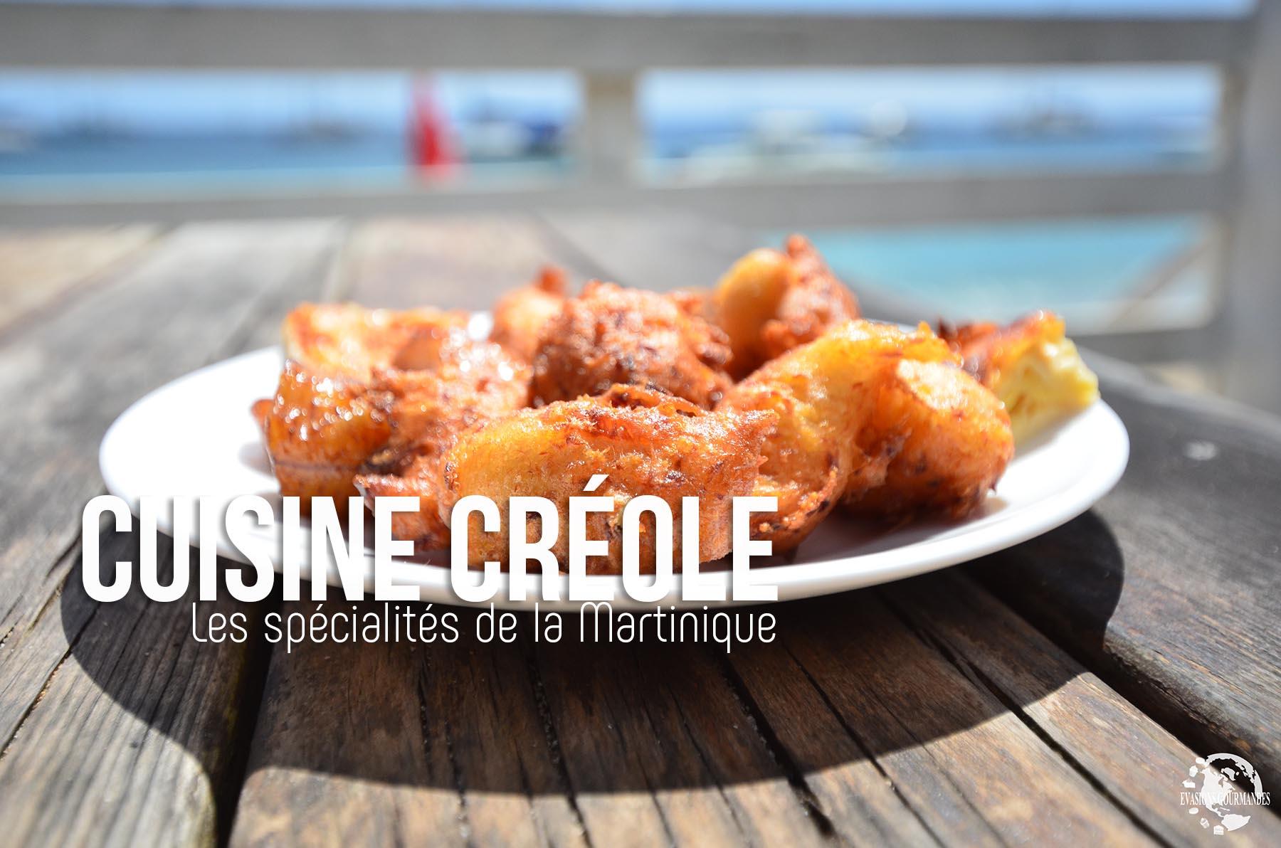 Cuisine créole Martinique