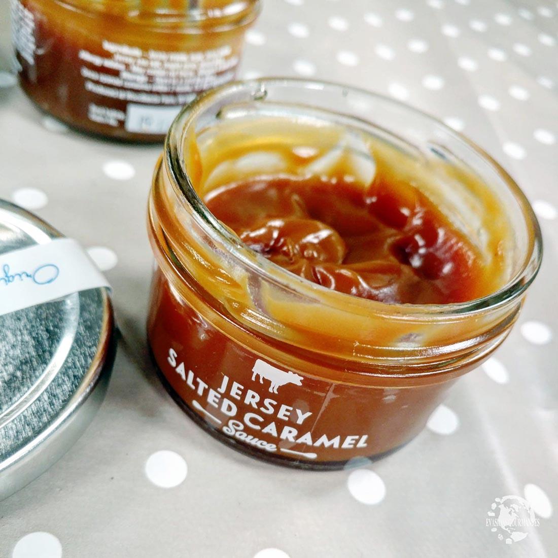 Salted caramel sauce Jersey