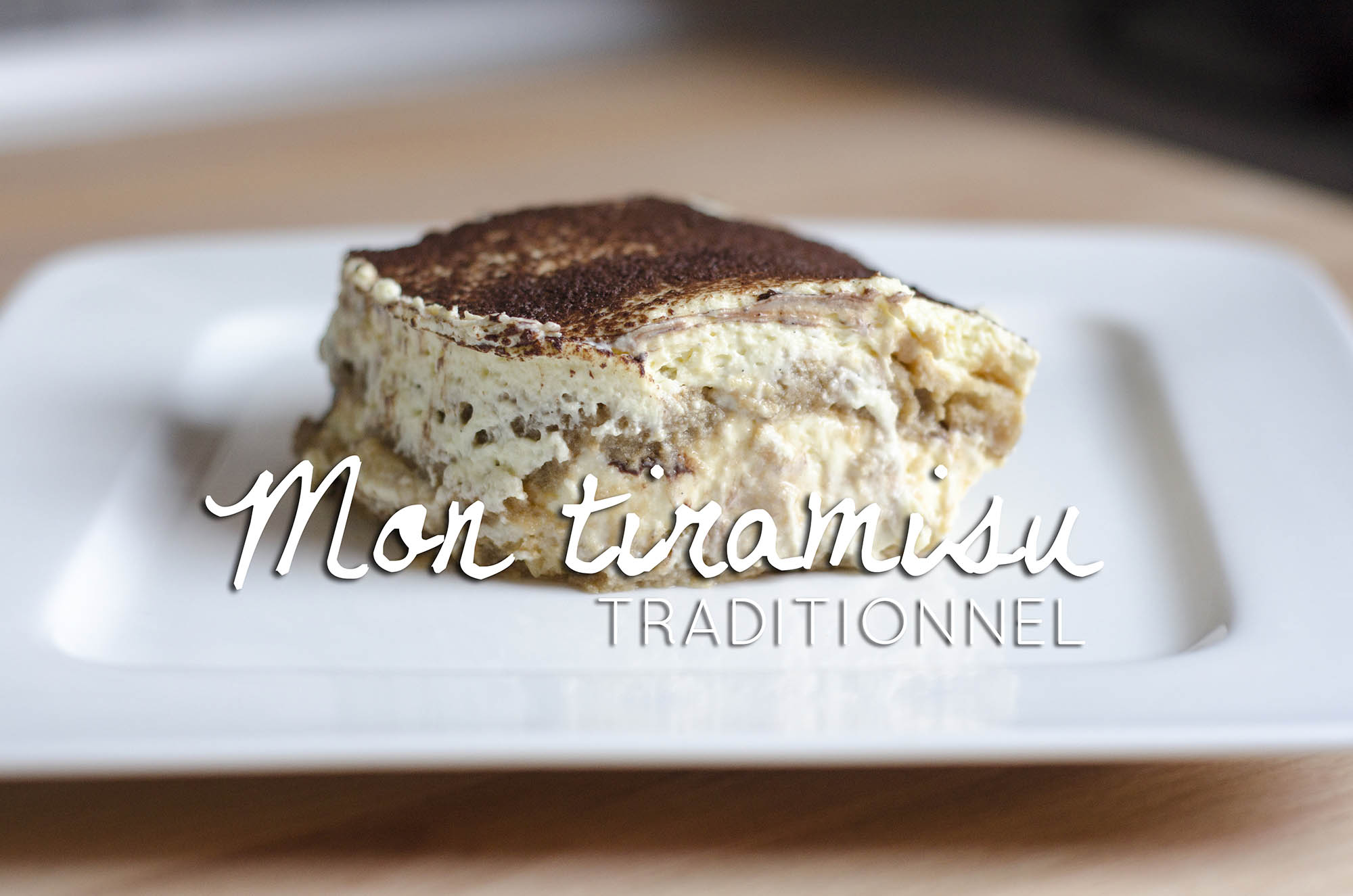 tiramisu traditionnel