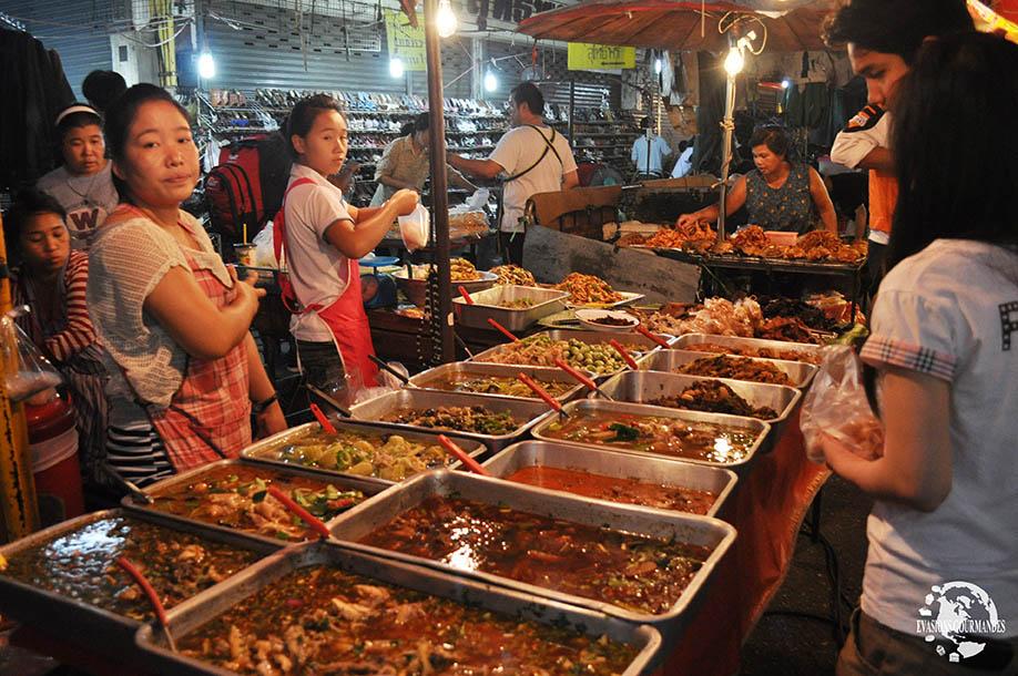 street food Thaïlande