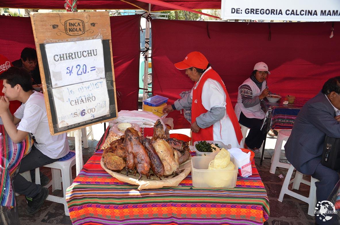 street food Pérou
