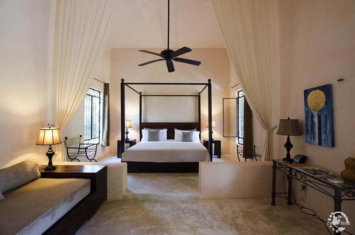 dormir dans une hacienda au mexique bienvenue l hacienda ticum. Black Bedroom Furniture Sets. Home Design Ideas