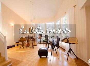 La Villa Concerto : un hébergement insolite chez l'habitant en Finlande