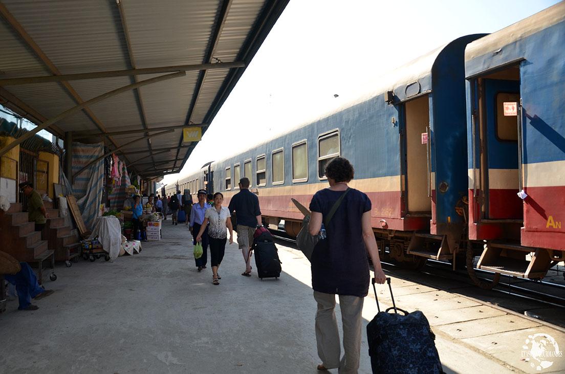 Gare Hué Vietnam