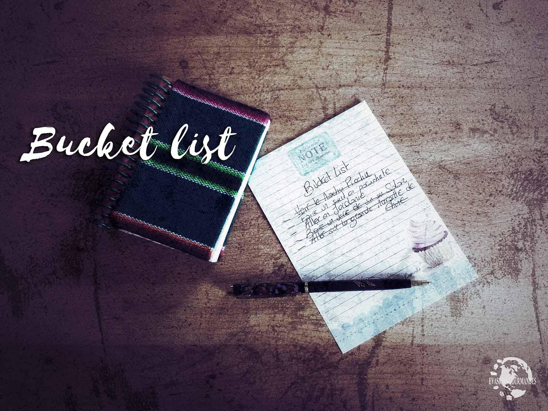 bucket list notre liste de choses faire avant de mourir. Black Bedroom Furniture Sets. Home Design Ideas