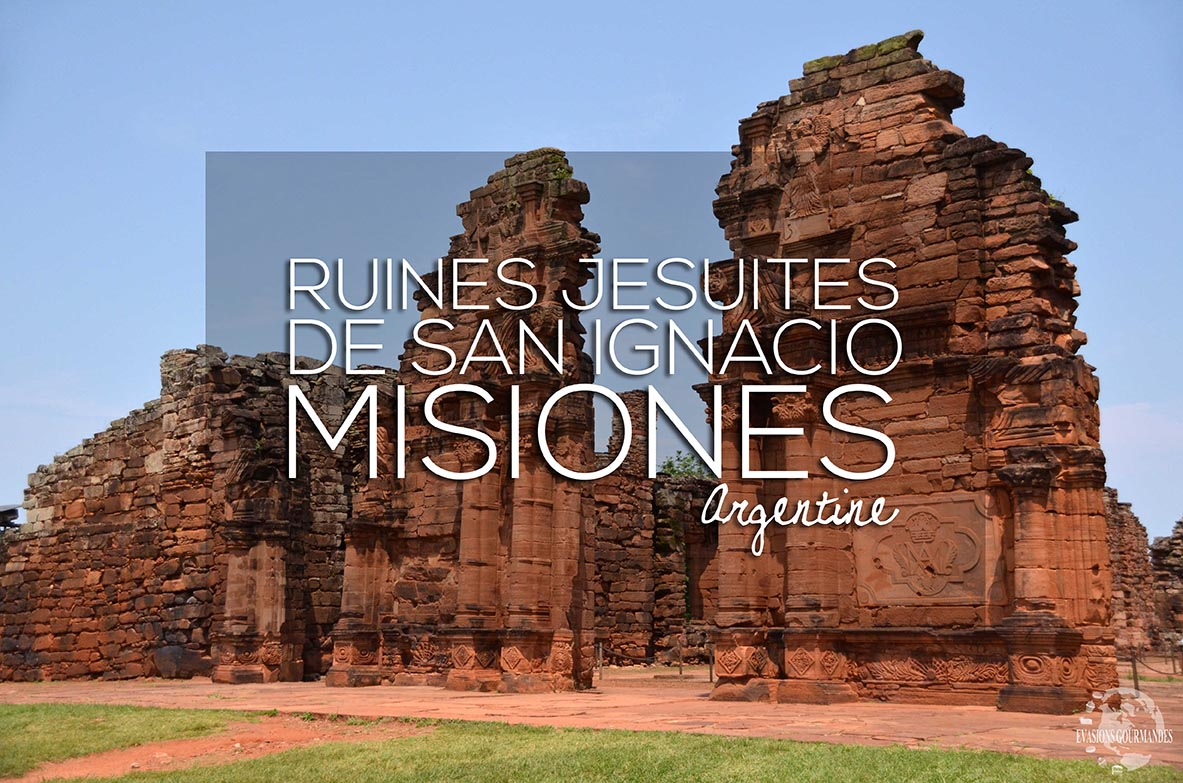 Ruines Jésuites en Argentine