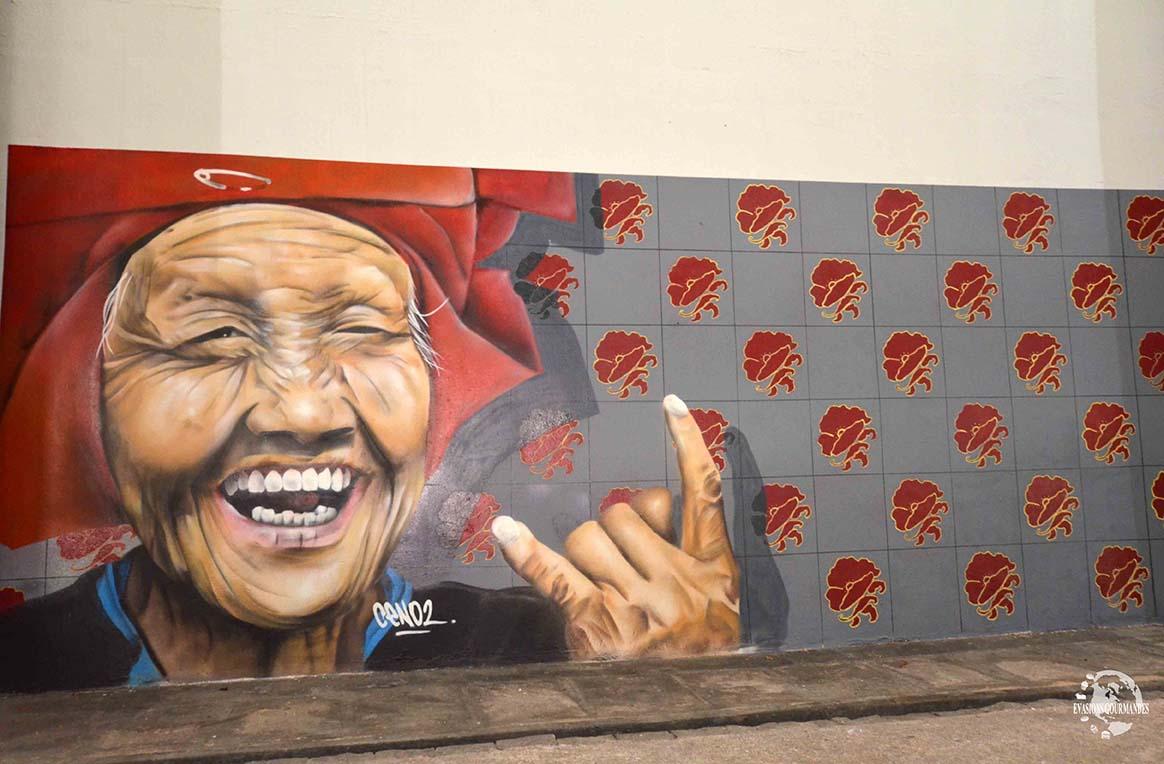 Street art Singapour