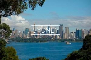 incontournables Sydney