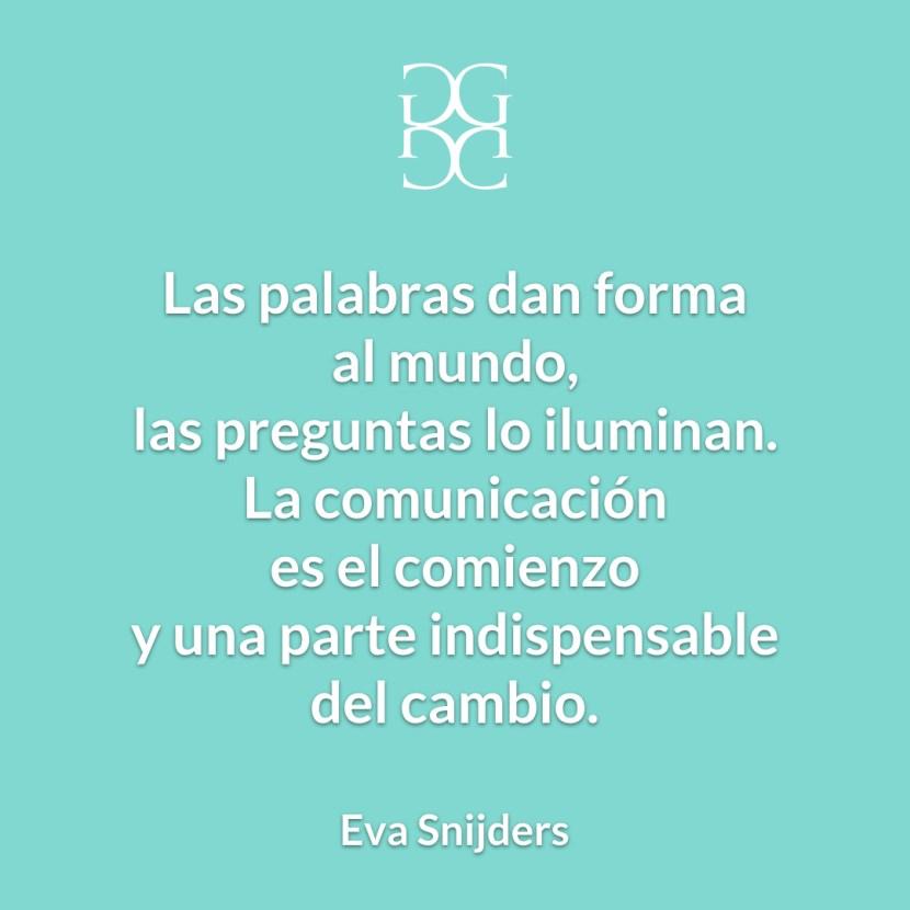 Eva Snijders Comunicación y cambio