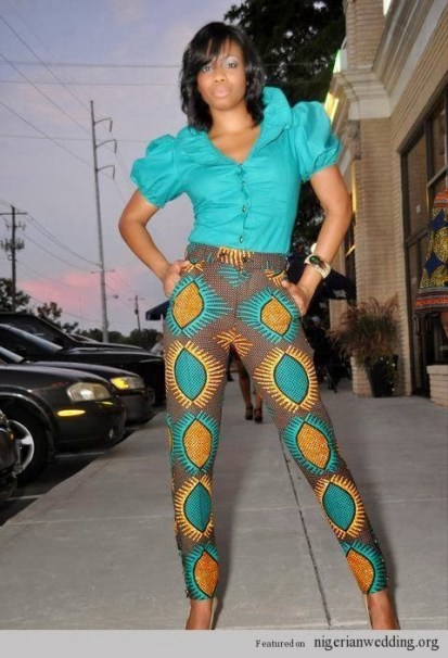 sew your ankara pants