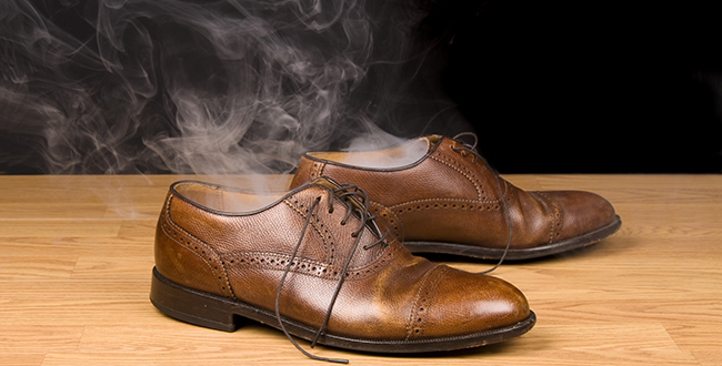 How To Prevent Stinky Feet In Dress Shoes